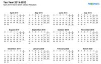 Tax Year - Landscape Thumbnail