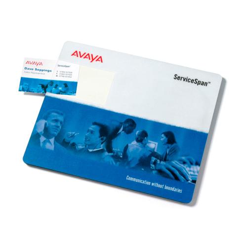 Hardtop Business Card Mouse Mat